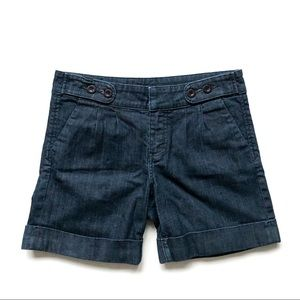 Kut From The Kloth Trouser Pleated Denim Shorts
